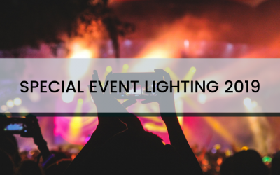 Special Event Lighting for 2019